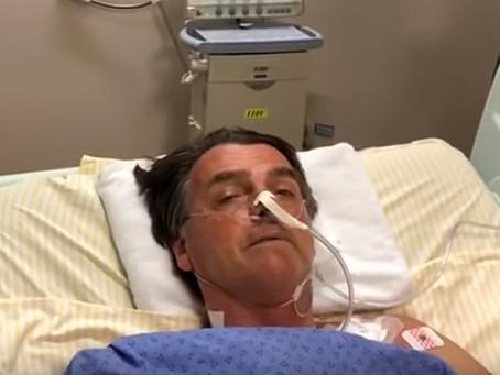 Cerca de 1kg de fezes teria sido retirado de Bolsonaro por sonda nasal
