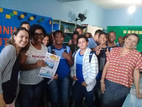 Escola Darcy Ribeiro cria grupo de escrita criativa usando História de SG