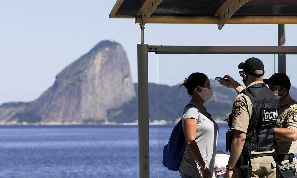 Ida a praia fica mais restrito/Foto: Agência Brasil