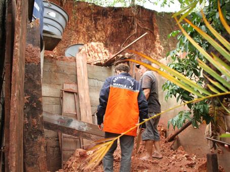 Chuva mobiliza Defesa Civil de Maricá