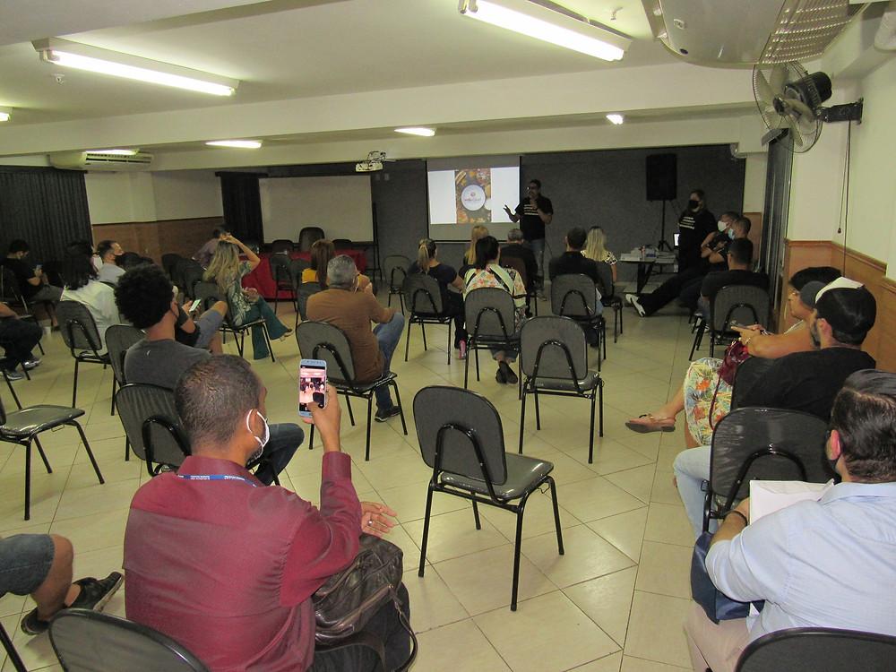 Empresários realizaram encontro na sede da Associação Comercial, no Centro/Foto: Divulgação