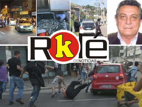 Criminoso de carro tentou assassinar manifestantes em Niterói; Motorista de Uber morto no Pita e mai