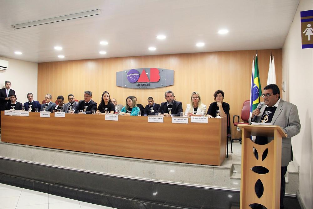 O prefeito José Luiz Nanci estava presente/Foto: Divulgação