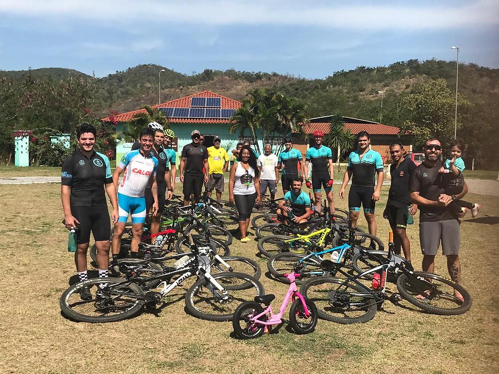 30 ciclistas competindo no circuito de aproximadamente 4 km/Foto: Divulgação
