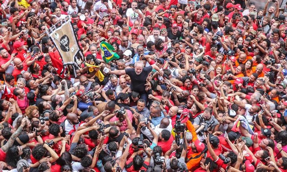 Lula em São Bernardo do Campo/Foto: Ricardo Stuckert