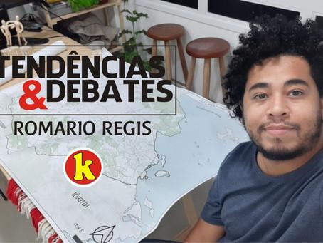 Romario Regis: 'A cidade que queremos depende da participação popular'