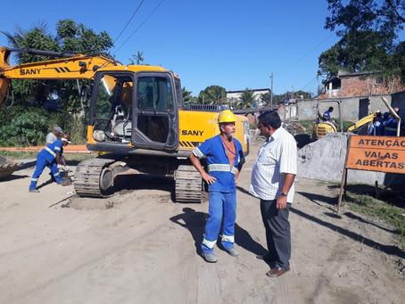 Guaxindiba recebe obras do PAC 2