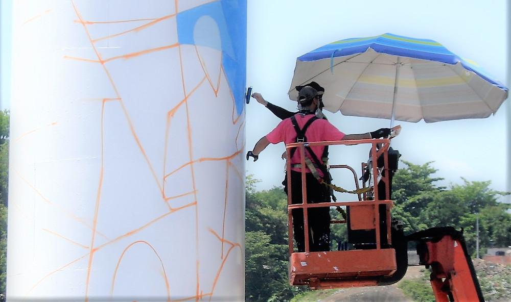 Intervenção e a terceira de uma série de quatro, que se encerra na Casa das Artes Villa Real/Foto: Divulgação