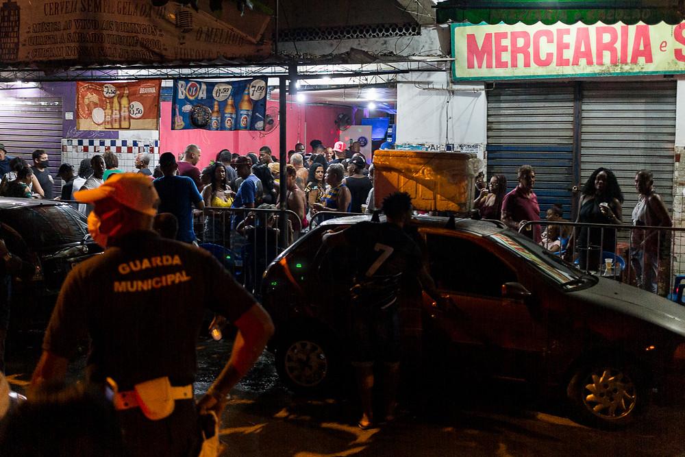 Bar também causava aglomeração e foi notificado/Foto: Divulgação