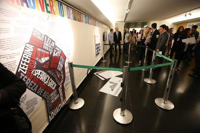 Ataque à placa sobre genocídio da população negra se deu paralelamente ao lançamento de exposição que discute tema da consciência negra/Foto: Lula Marques