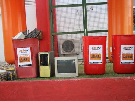 Maricá garante descarte seguro de resíduos eletrônicos e óleo usado