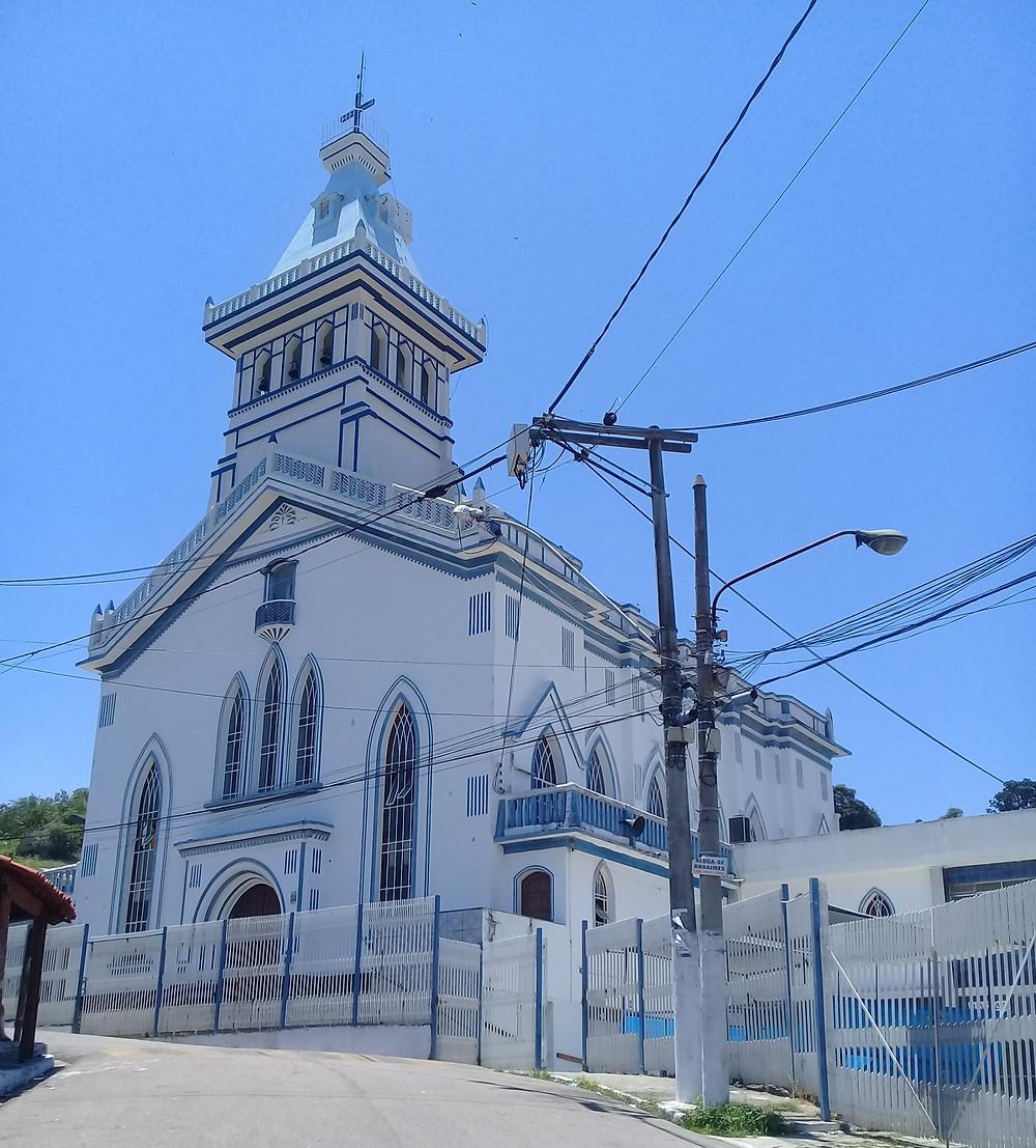 Igreja de Nossa Senhora das Graças/Foto: Erick Bernardes
