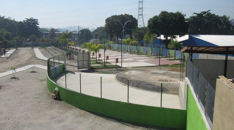 Área onde ficará o Centro de Tradições foi completamente revitalizada/Foto: Divulgação