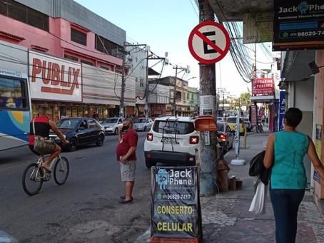 Comerciantes protestam contra ação da Guarda Municipal no Paraíso