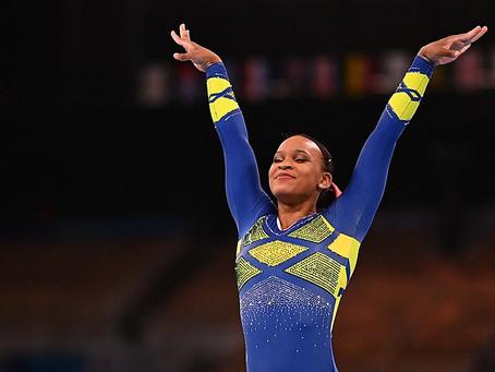 Baile da Favela: Rebeca é a 1ª brasileira  medalhista na ginástica olímpica artística