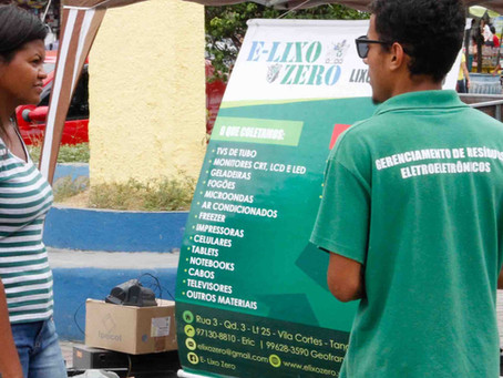 Alcântara recolhe lixo eletrônico nesta sexta