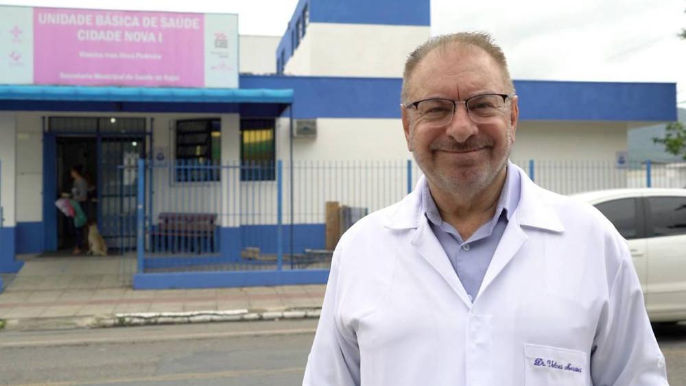 O prefeito de Itajaí, Volnei Morastoni, do MDB (Foto: Reprodução/Facebook)