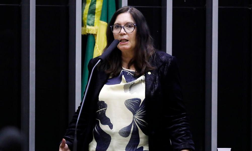 Bia Kicis assumiu a Comissão de Constituição e Justiça/Foto: Agência Brasil