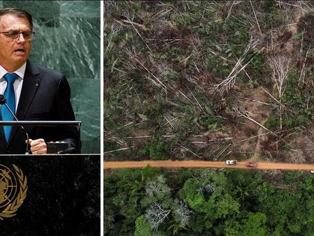Bolsonaro é denunciado em Haia por destruir a Amazônia