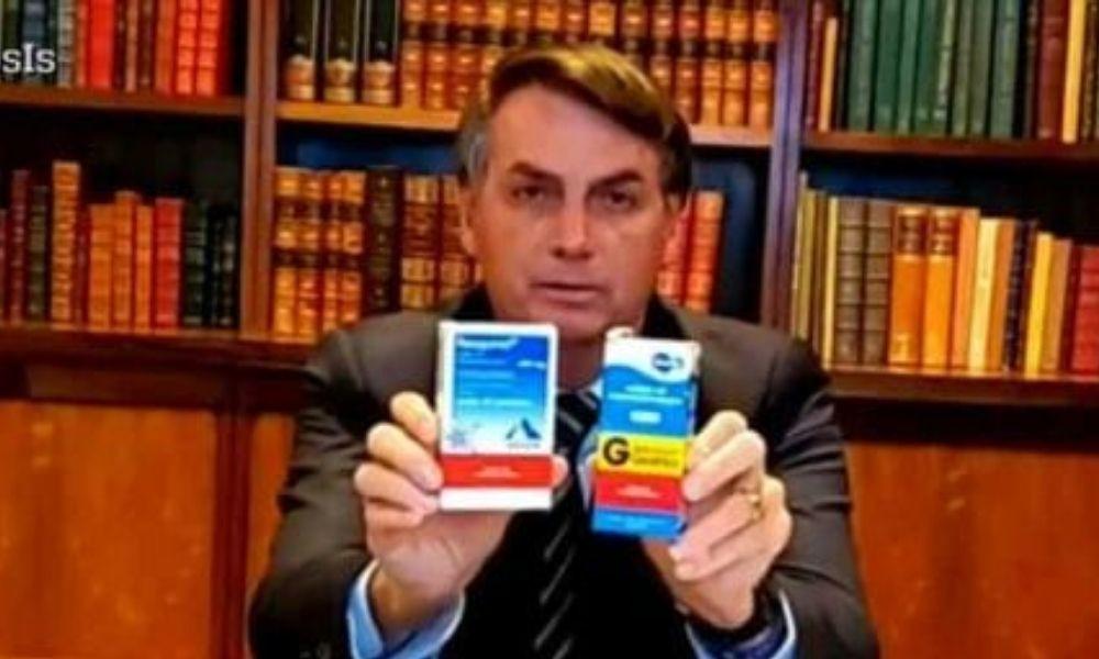 Garoto propaganda de remédio ineficaz para a Covid/Foto: Reprodução