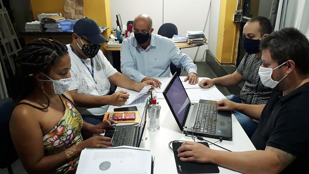 Equipe técnica da SNTC/Foto: Divulgação