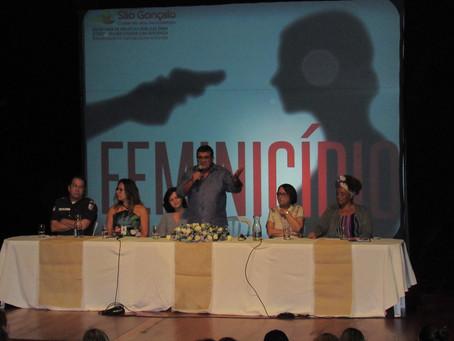 São Gonçalo promove seminário sobre Feminicídio no Sesc