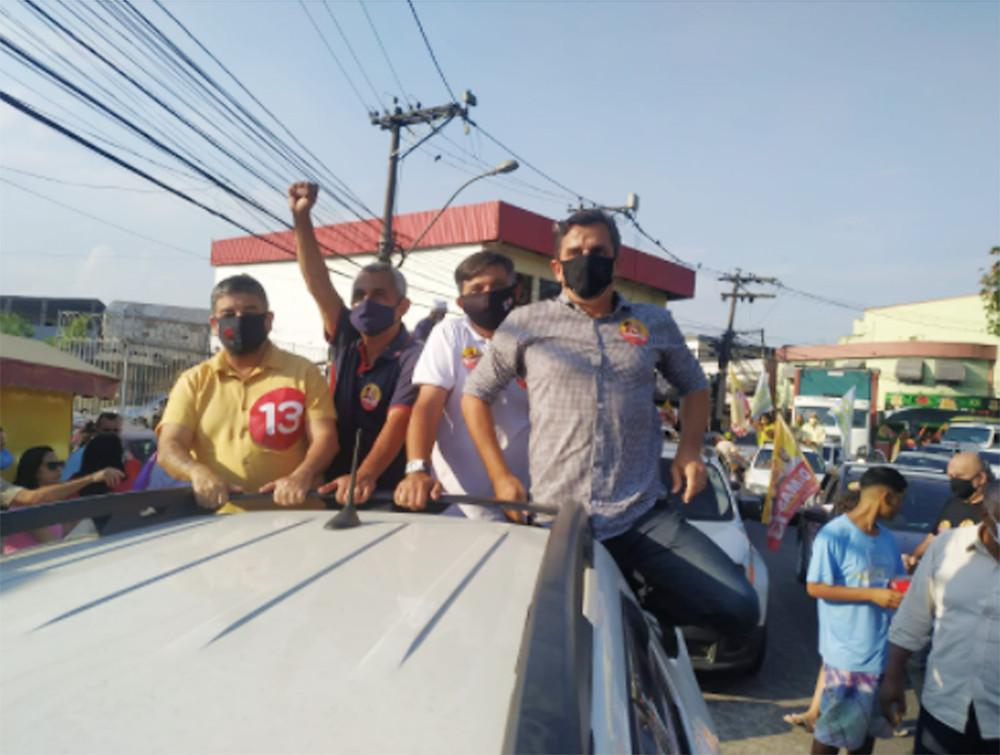 Fabiano Horta o ex-prefeito Washington Quaquá marcaram presença/Foto: Divulgação