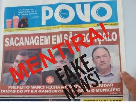 Que feio! Jornal carioca joga sujo contra Dimas Gadelha