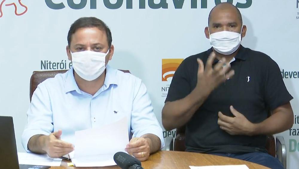 Prefeito Rodrigo Neves espera colaboração da população/Foto: Divulgação