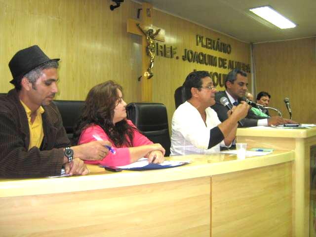 Audiência em 2012 que antecedeu o Projeto de Lei