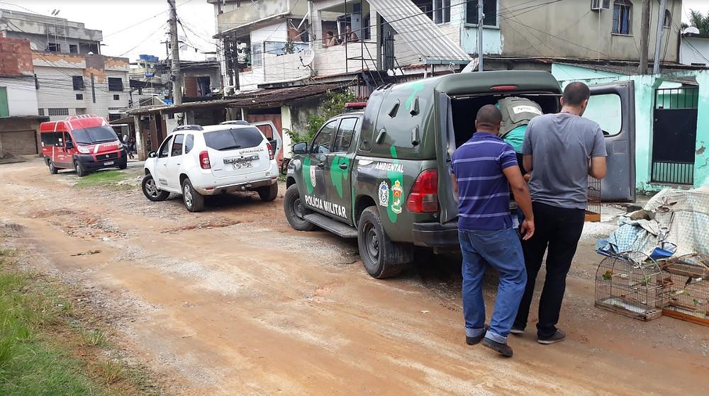Ação ocorreu no bairro Boa Vista/Foto: Divulgação