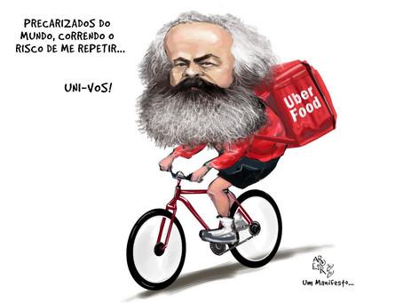 O barbudo tinha razão: 'trabalhadores do mundo uni-vos' - Por Karla Amaral