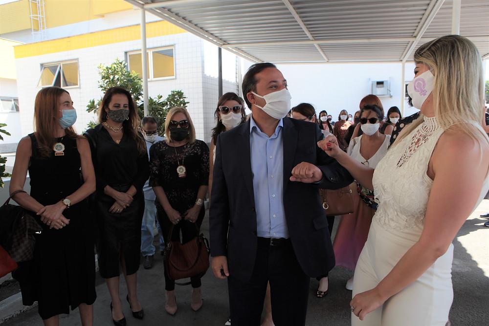 Prefeito rodrigo Neves inaugurou a Sala/Foto: Divulgação