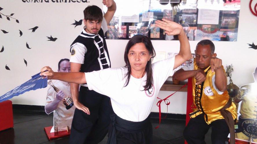 Da esquerda para a direita: Fernando Leston, Patricia Castro e Luiz Santos.