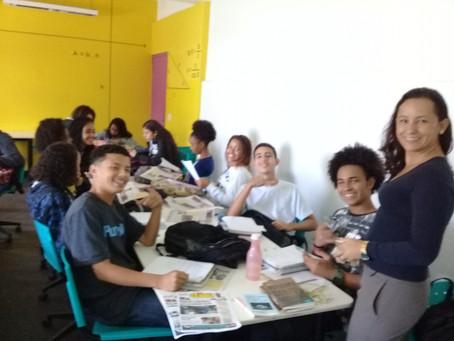 CIEP em Vista Alegre prepara alunos para Olimpíada de língua portuguesa