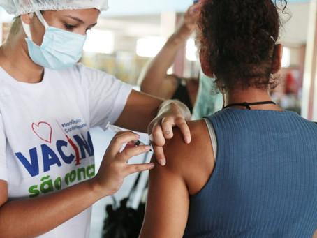 Vacinação da 1ª dose em São Gonçalo volta no sábado, 27