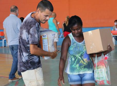 Coronavírus: Maricá divulga cronograma para entrega de cestas básicas