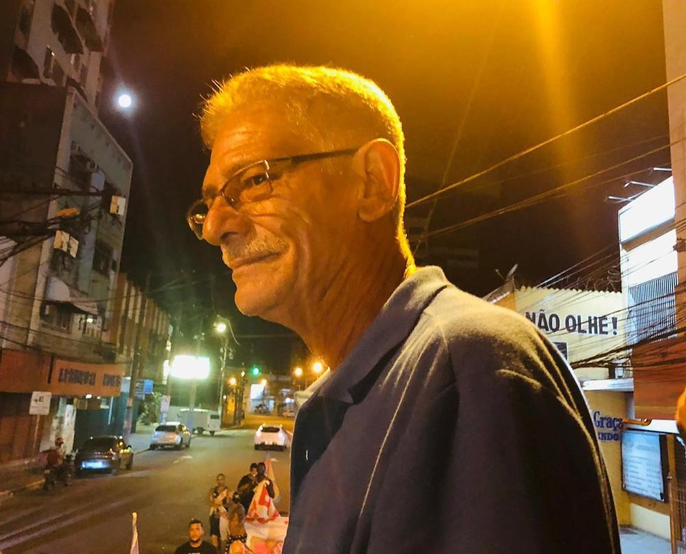 Nelson Ruas acredita que desenvolvimento do município virá se o problema da Segurança Pública for resolvido/Foto: Maria Costa