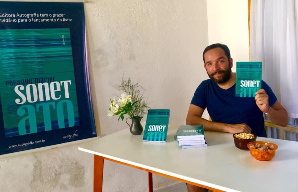 Maciel esteve na Flip de Paraty/Foto: Divulgação Autografia