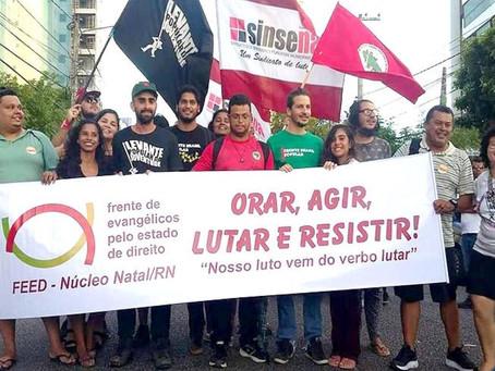 Evangélicos denunciam 'agir maligno' de Bolsonaro contra o povo brasileiro