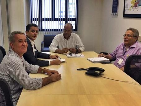 Horta e Detro negociam linhas de ônibus de Maricá para SG e Itaboraí