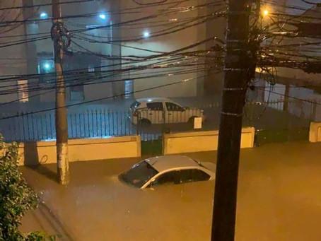 Temporal e estragos em São Gonçalo e Niterói
