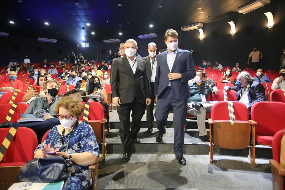 Axel Grael foi o anfitrião do encontro/Foto: Divulgação