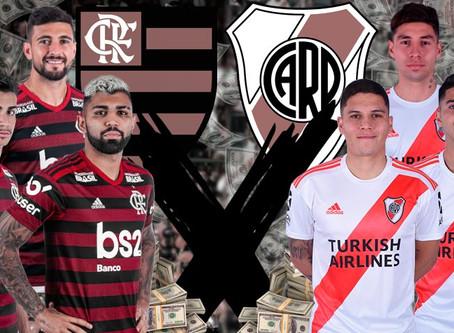 Flamengo X River Plate, por Victor Machado