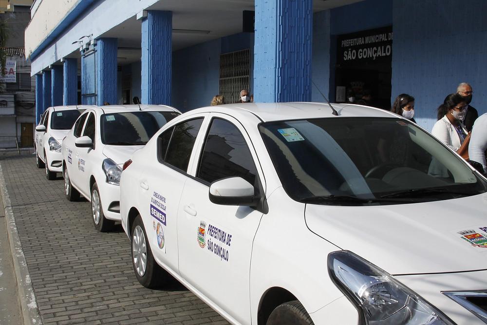 Automóveis foram entregues nesta sexta, 17/Foto: Divulgação