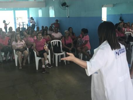 Câncer de mama: Clínica Gonçalense do Barro Vermelho incentiva prevenção