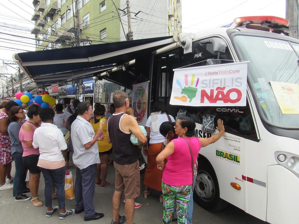 Equipes percorrem vários bairros/Foto: Divulgação