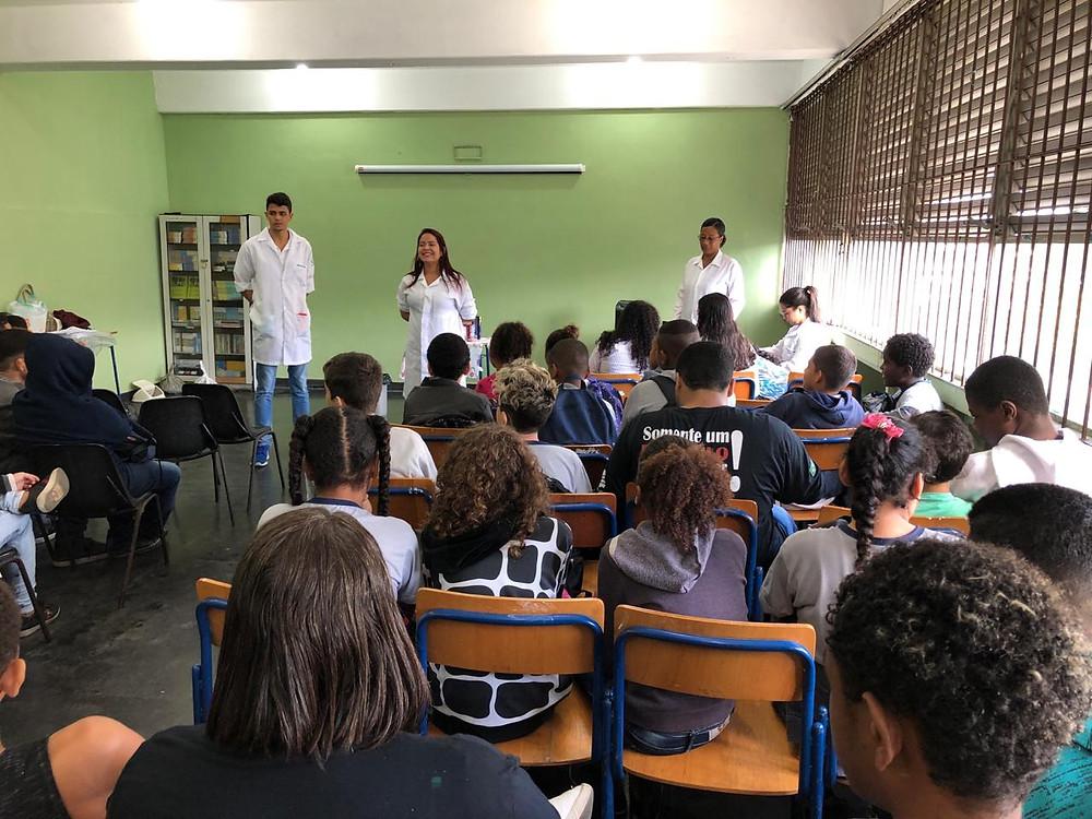 Profissionais do NASF participaram do evento/Foto: Divulgação