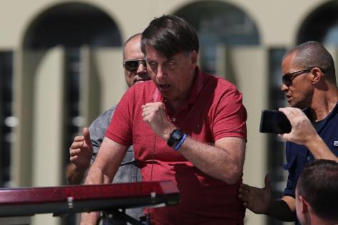 No domingo (20) Bolsonaro afirmou em mainifestação pró-ditadura, que não ia negociar com Câmara/Foto: Divulgação