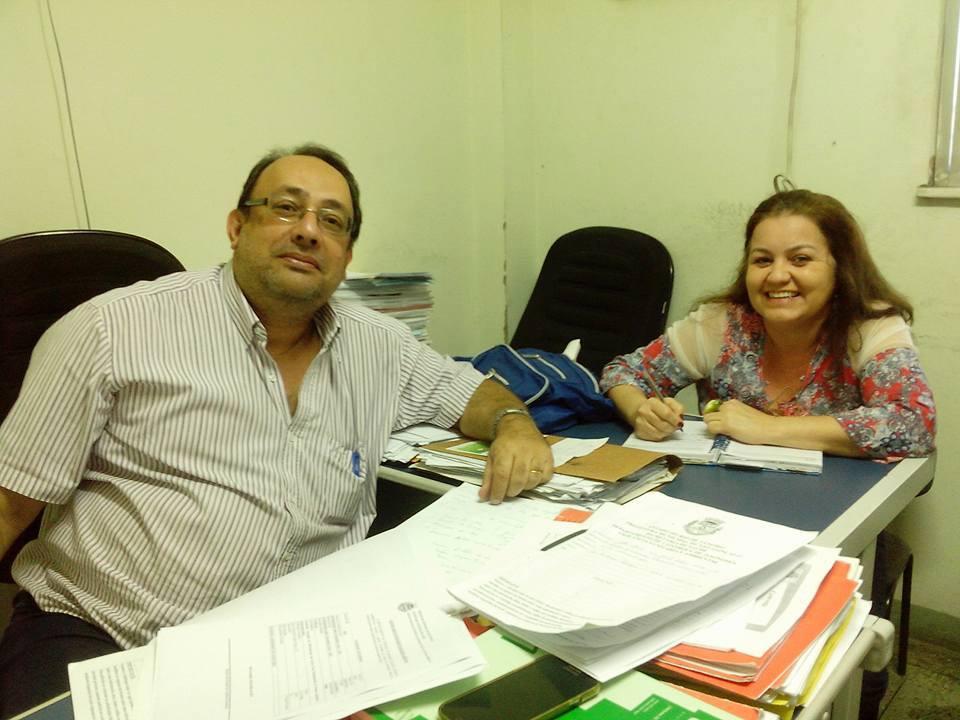 Renato Pacheco e Monica Sá